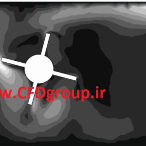 شبیه سازی توربین در فلوئنت - آموزش دینامیک مش - sdof - sliding