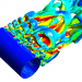 مدل توربولانسی فلوئنت - مدل دیواره فلوئنت - انتخاب وای پلاس فلوئنت