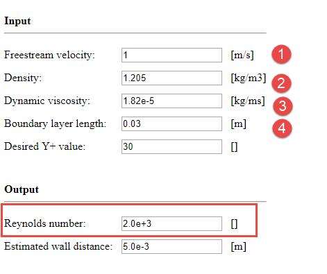 چگونگی محاسبه عدد رینولدز برای پروژه های فلوئنت
