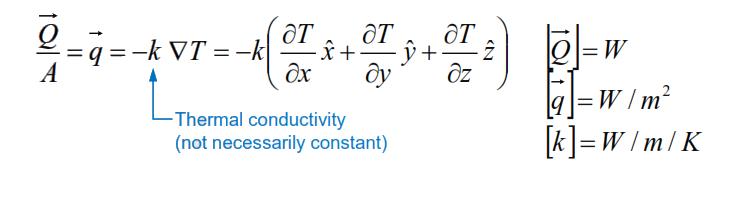 معادله انتقال حرارت هدایتی