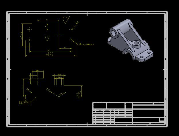 آموزش نقشه کشی صنعتی در سالیدورک